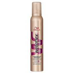 Wella мусс для волос супер-сильной фиксации