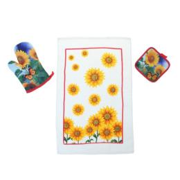 "Bonita набор ""Кубанское солнце"" прихватка + рукавица + полотенце"