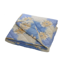 """7 Перин одеяло силиконизированное волокно 172х205 в п/э пакете """"Одуванчики"""""""