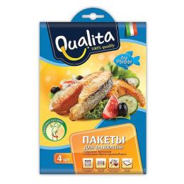 Qualita пакеты для запекания рыбы 25х55см