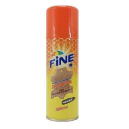 Fine краска-аэрозоль для изделий из замши и нубука черный