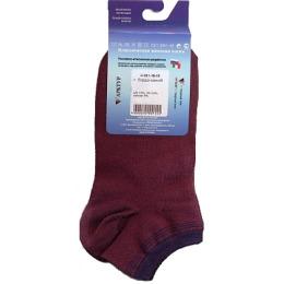 """Грация носки """"H 001 18-15"""" синий-бордовый"""