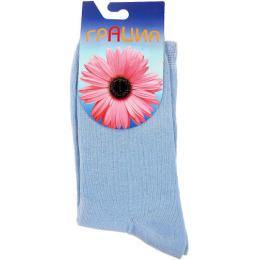 """Грация носки """"H 003 15"""" синие"""