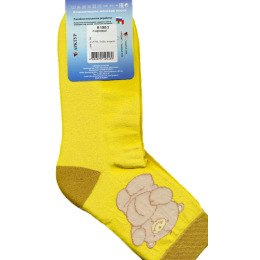 """Грация носки женские """"М 1083 10"""" желтые"""