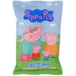 Peppa Pig салфетки влажные детские, 20 шт