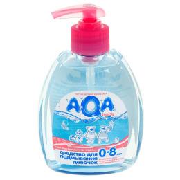 Aqa Baby средство для подмывания девочек