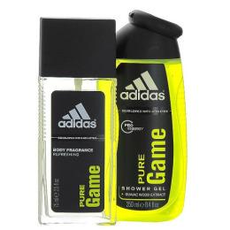 """Adidas набор """"Pure Game"""" парфюмированная вода, гель для душа мужской"""