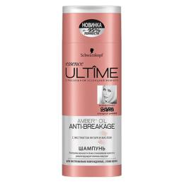 """Essence Ultime шампунь """"ULTIME AMBER + OIL"""" для экстремально поврежденных сухих волос"""