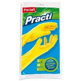 "Paclan перчатки резиновые ""Practi"", 1 пара"