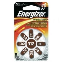 Energizer батарейка для слухового аппарата 312 PP