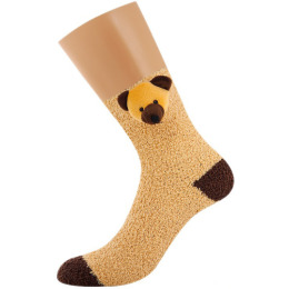 "Griff носки женские ""Donna. D9N3"" игрушка с ABS мишка Lilla"