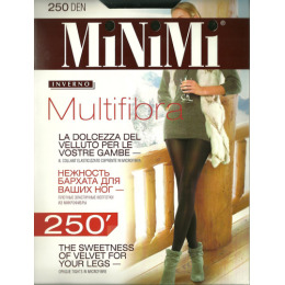 "Minimi колготки ""Multifibra 250"" nero"