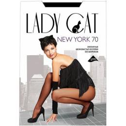 """Lady Cat колготки """"New York. 70"""" черный"""