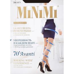 "Minimi колготки ""Avanti 70 с утяжкой по ноге"" caramello"