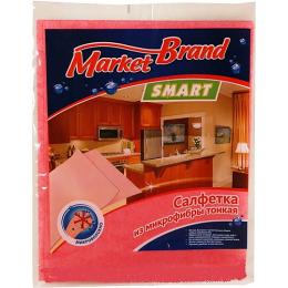 MarketBrand салфетка универсальная микрофибра 30х30