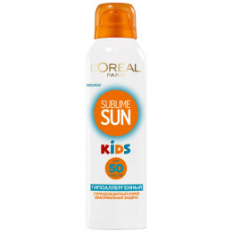 "L'Oreal солнцезащитный спрей для детей ""Sublime Sun"" SPF 50"