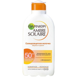 Garnier молочко солнцезащитное SPF 50