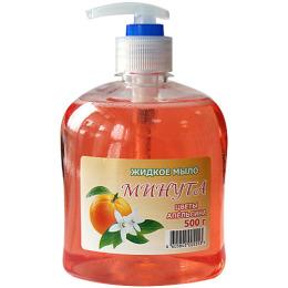 """Минута мыло жидкое """"Цветы апельсина"""" с дозатором"""