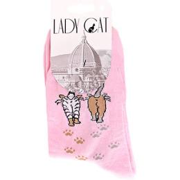 """Lady Cat носки """"М 3003 29"""" светло-розовый"""