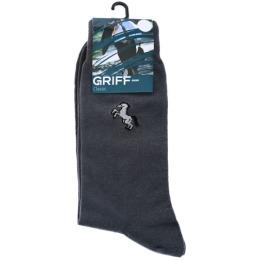 "Griff носки мужские ""Classic. B1"" Grigio Chiaro"