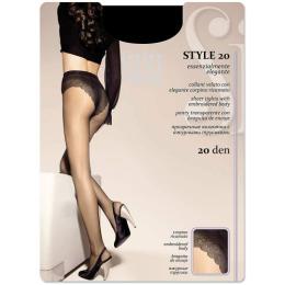"""SiSi колготки """"Style. 20""""Grafite"""