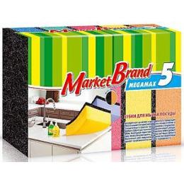 MarketBrand губка для посуды