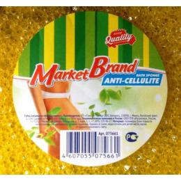 MarketBrand губка купальная антицеллюлит