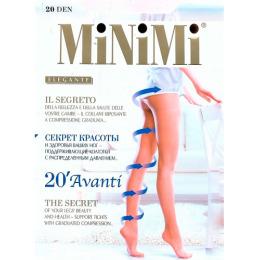 "Minimi колготки ""Avanti. 20"" утяжка по ноге Caramello"