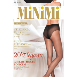 """Minimi колготки """"Elegante 20"""" nero"""