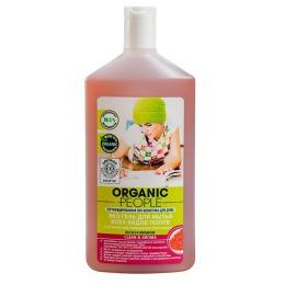 Organic people гель для мытья всех видов полов, 500 мл