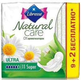 """Libresse прокладки гигиенические """"Natural Care. Ultra. Super"""""""
