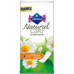 "Libresse прокладки ежедневные ""Natural Care. Normal"""