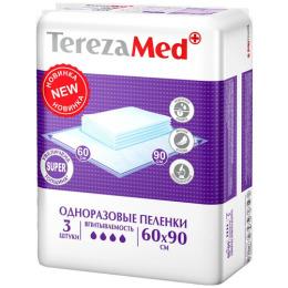 """Tereza пеленки одноразовые """"Super"""" 60x90см"""