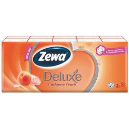 """Zewa платки носовые """"Deluxe. Персик"""" 3-ех слойные спайка"""