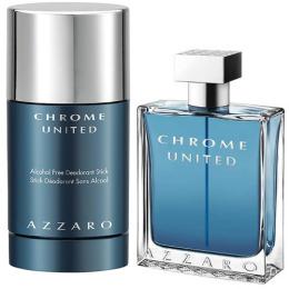 "Azzaro Chrome подарочный набор ""United"" туалетная вода 50 мл + дезодорант спрей 75 мл"