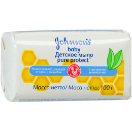 """Johnson`s baby детское мыло """"Pure Protect"""", 100 г"""