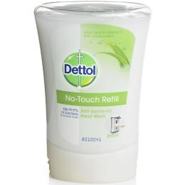 """Dettol диспенсер """"С декоративным элементом Д"""" для антибактериального жидкого мыла для рук в комплекте с жидким мылом с алое витамином Е"""
