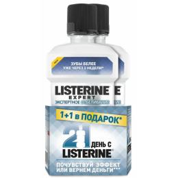 """Listerine ополаскиватель для полости рта """"Экспертное отбеливание"""""""