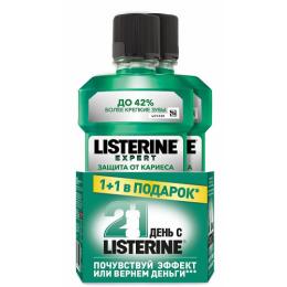 """Listerine ополаскиватель для полости рта """"Защита от кариеса"""""""