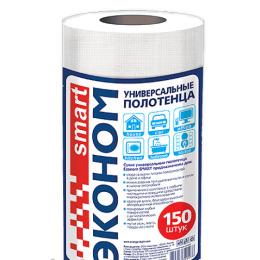 Эконом smart сухие полотенца, 150 шт