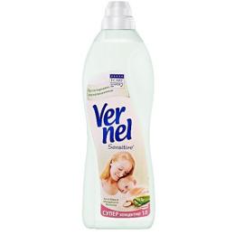"""Vernel кондиционер для белья """"Sensitive. Алоэ вера и миндальное молоко"""" супер концентрат"""