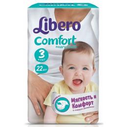 """Libero подгузники """"Comfort"""" 4-9 кг, 22 шт"""