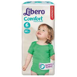 "Libero подгузники ""Comfort Fit"" 12-22 кг"