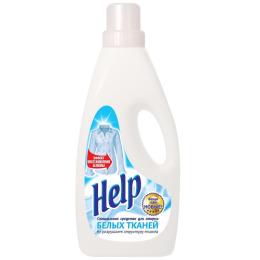 """Help средство для стирки """"Белых тканей"""" специальное"""