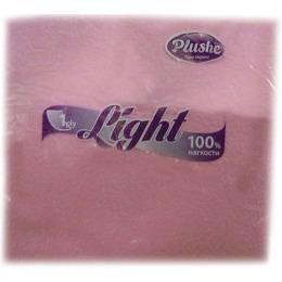 "Plushe салфетки ""Light. Super 100"" 1 слой"
