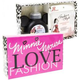 """Я самая набор """"Minni Mouse Fashion"""" мусс для умывания """"Бережное очищение"""" 250 мл +  косметическая губка для умывания """"Звезда"""""""
