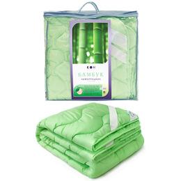 """Мягкий сон наматрацник """"Зеленый"""" стеганый всесезонный микрофибра бамбуковое волокно 160x200 в чемодане"""