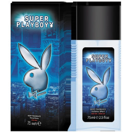 "PlayBoy парфюмированная вода ""Super Body. Fragrance Natural Spray. For Him"" для мужчин"