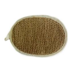 Чеширка мочалка № 48 овальная лён