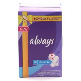 """Always женские гигиенические прокладки """"Normal Duo"""" на каждый день"""